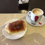 Desayuno en cafetería