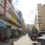 улица на которой Стоит отель