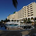 Pool Area adn Hotel Garden