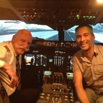Fantastic day at FSM in the 747 with Pablo as my instructor.