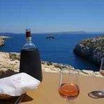 View from Kantra beach restaurant