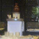 fontana di cioccolata