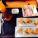 Lunch Menu - sushi. Amazing!!