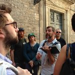 Free walking tour with Colin