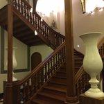 Detail van het trappenhuis