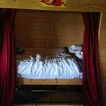the smaller double bed