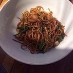 Seafood noodle.