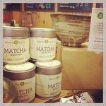 Authentic Japanese green tea matcha