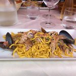 Tagliolini caserecci ai frutti di mare... Spettacolari!