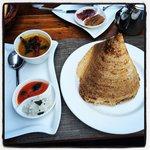 Gorgeous indian breakfast