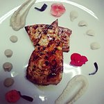 Pesce spada marinato in miele e salsa di soia