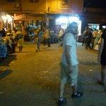 De noche en la vieja medina