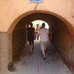 Por los pasillos