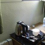 Bollitore con the e caffé