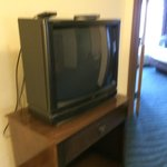 Old style 32 inch television without a remote.
