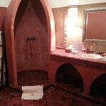 Salle de bain de la chambre warda