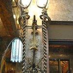 Lámparas de hierro