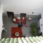 sala central desde la terraza