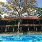 Zona piscina e ristorante