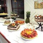 Dessert table - dinner - main buffet restaurant
