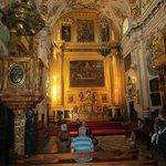 intérieur église baroque