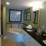 Master bath Presidential suite