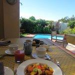 Great Breakfast With Beautiful Scenery