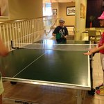 Ping Pong table.