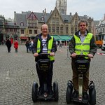 Photos of our Segway tour of Brugge