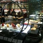 le buffet de dessert