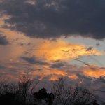 A Sunset Photo Taken On Safari