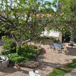 La cour et le jardin