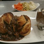 Our delicious  Steak & Guinness pie