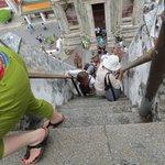 Wat Arun steps