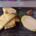 un foie gras plus épais qu'à l'ordinaire