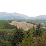 Panorama collinare del Montefeltro