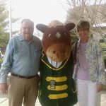 My wife and I with Buckles.