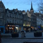 The Grassmarket in the Evening