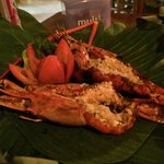 $10 (~ Rp110,000) for 2 Giant Grilled Prawns