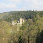 Kasteel Reinhardstein (wandeling groene rechthoek)