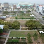 View from room---Discovery Green