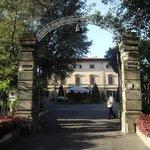 portail d/entre de la villa