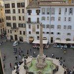 Piazza della Rotonda from room