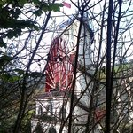 Different view of the Laxey Wheel