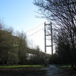 Humber Bridge from the north.