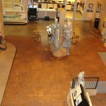 Terra Cotta Soldiers, currently in the Treasures of the Earth Exhibit.