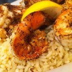 Blackened Shrimp with Rice