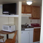 one of our room with a kitchen