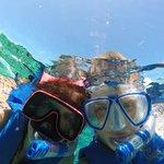 Kids Snorkel Selfie