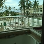 view from jacuzzi tub